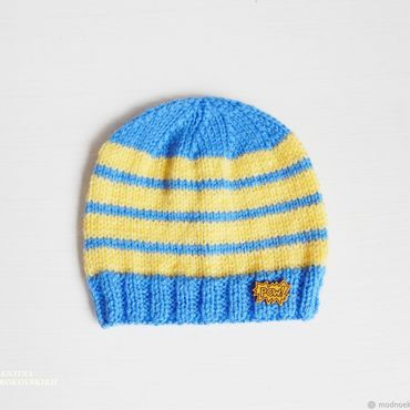 Clothing handmade. Livemaster - original item Knitted hat for boy