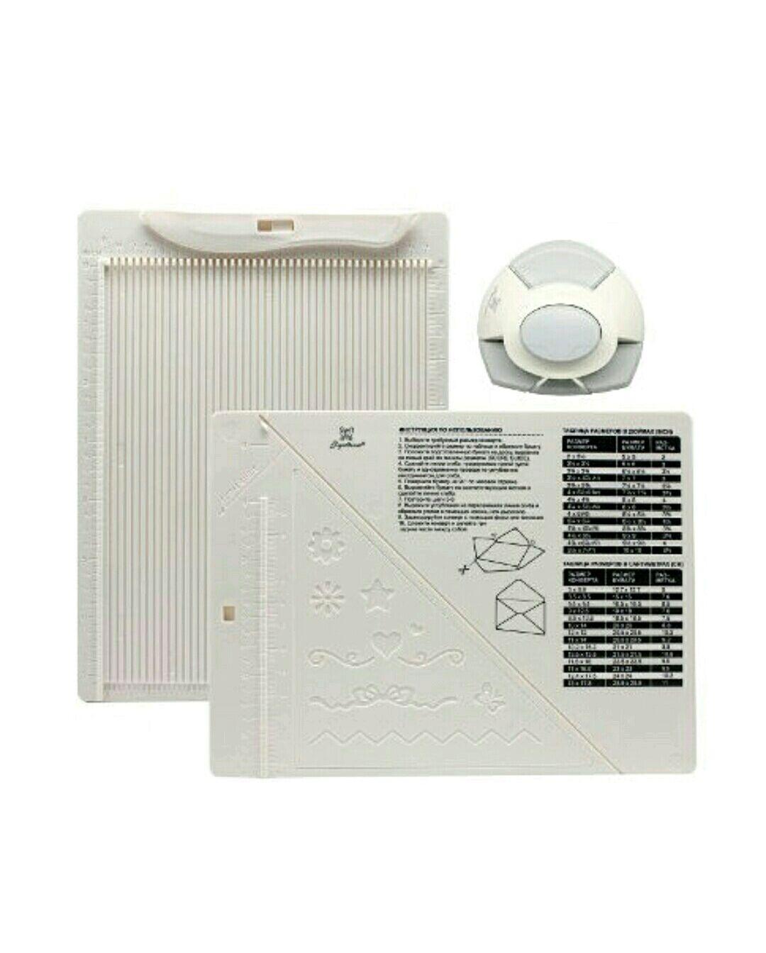 доска для создания конвертов и открыток рукоделие