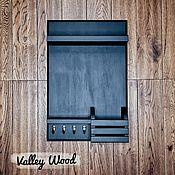 Для дома и интерьера handmade. Livemaster - original item Key holder wall for the hallway black. Handmade.