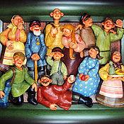 """Картины и панно ручной работы. Ярмарка Мастеров - ручная работа """"Во солдаты"""" (""""Старое фото""""). Handmade."""