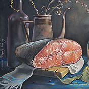 Картины и панно ручной работы. Ярмарка Мастеров - ручная работа Званый ужин. Handmade.