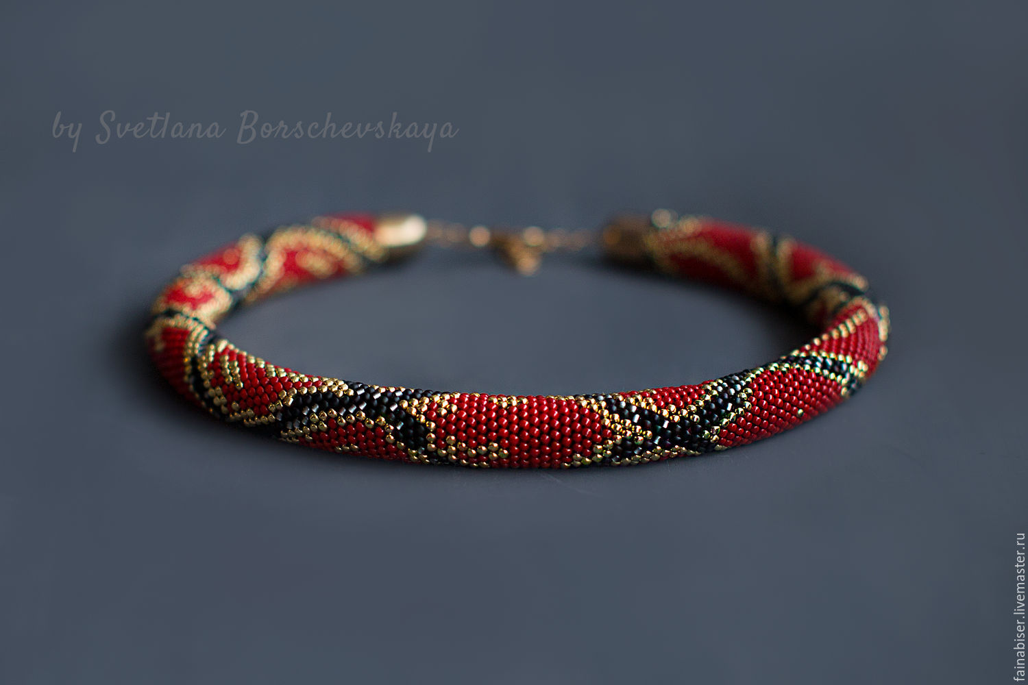 Harness Royal Python, Necklace, Kaluga,  Фото №1