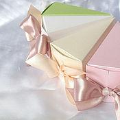 """Подарки к праздникам ручной работы. Ярмарка Мастеров - ручная работа Упаковка """"Тортики"""". Handmade."""