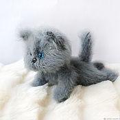 Куклы и игрушки handmade. Livemaster - original item Cat Vaska. Author toy. knitted kitty. Handmade.