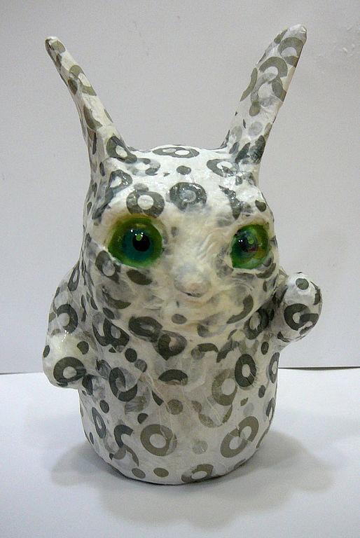 """Игрушки животные, ручной работы. Ярмарка Мастеров - ручная работа. Купить """"Наверное я леопард"""". Handmade. Папье-маше, оригинальный подарок"""