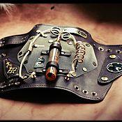 Украшения handmade. Livemaster - original item Steampunk Bracers series