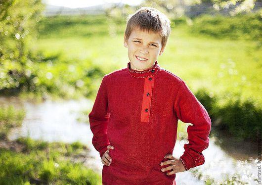 Одежда ручной работы. Ярмарка Мастеров - ручная работа. Купить Косоворотка для мальчика. Handmade. Косоворотка, народная традиция