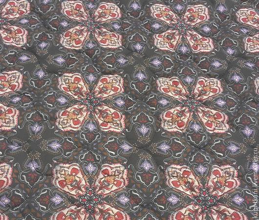 Шитье ручной работы. Ярмарка Мастеров - ручная работа. Купить Курточная ткань Италия. Handmade. Комбинированный, стеганые ткани