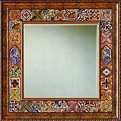 Для дома и интерьера handmade. Livemaster - original item Large mirror Italian tiles 3. Handmade.