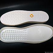 Материалы для творчества handmade. Livemaster - original item Men`s sole URAGAN (SNEAKERS, slip-ONS). Handmade.