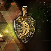 Фен-шуй и эзотерика handmade. Livemaster - original item The sun and the Moon or Amulet of Protection of relations Gilding. Handmade.