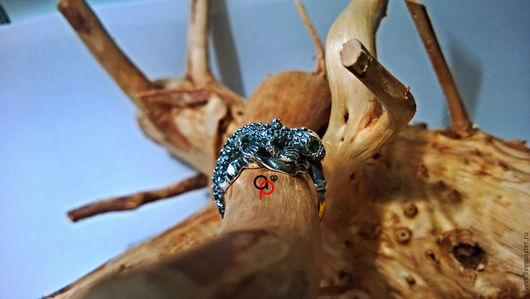 """Кольца ручной работы. Ярмарка Мастеров - ручная работа. Купить Кольцо """"Игуана"""". Handmade. Кольцо серебро, кольца из серебра"""