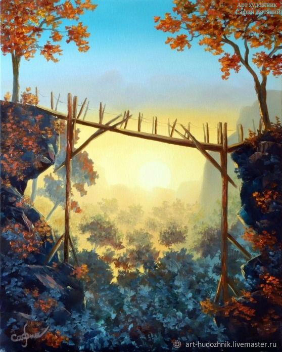 Летний пейзаж картина Перевал, Картины, Санкт-Петербург,  Фото №1
