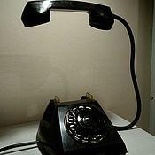 Настольные лампы ручной работы. Ярмарка Мастеров - ручная работа Телефон, излучающий свет в стиле Loft. Handmade.