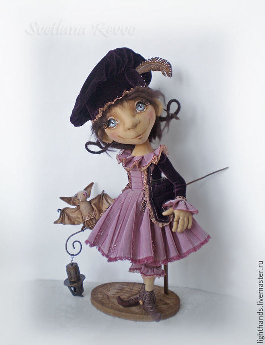 Коллекционные куклы ручной работы. Ярмарка Мастеров - ручная работа. Купить Когда я буду волшебницей. Коллекционная кукла. Handmade. Кукла