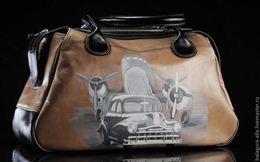 """Женские сумки ручной работы. Ярмарка Мастеров - ручная работа. Купить Саквояж """"Ретро"""". Handmade. Подарок девушке, ретро стиль"""