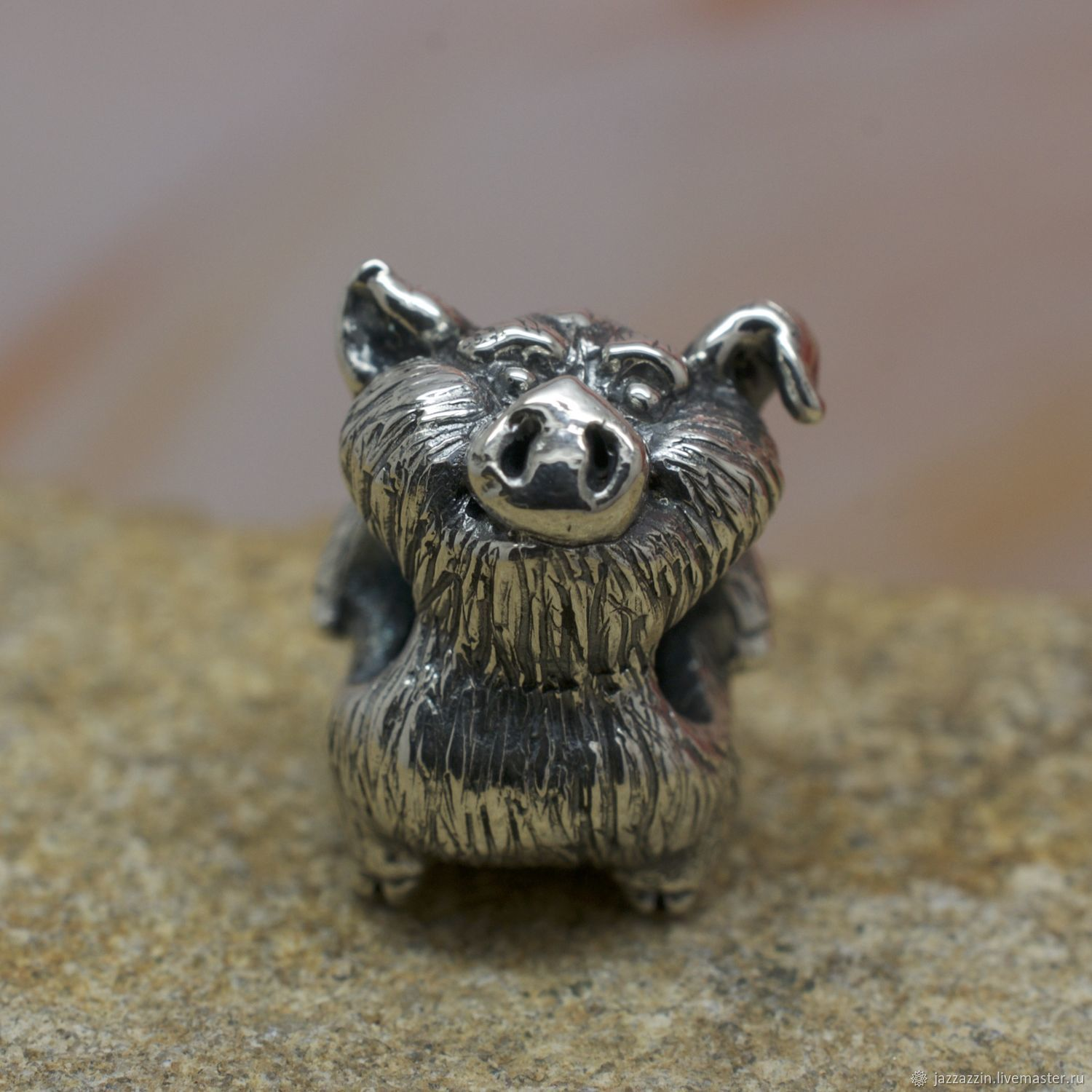 All for Jewelry Making handmade. Livemaster - handmade. Buy Boar charm.Charm, piglet, swine