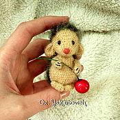 Куклы и игрушки ручной работы. Ярмарка Мастеров - ручная работа Ёжик крючком. Вязаная игрушка. Handmade.
