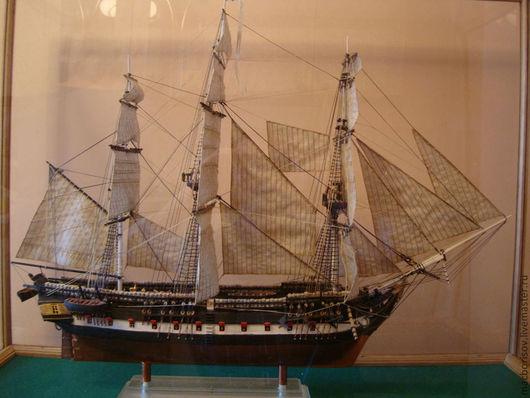 """Подарки для мужчин, ручной работы. Ярмарка Мастеров - ручная работа. Купить Корабль """"Восток"""". Handmade. Корабль, флот, пластика"""