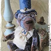 """Куклы и игрушки ручной работы. Ярмарка Мастеров - ручная работа Жюль Верн - коллекционный медведь из коллекции """"Mon petit ami """". Handmade."""