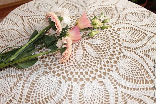 Текстиль, ковры ручной работы. Ярмарка Мастеров - ручная работа. Купить Скатерть № 10. Handmade. Бежевый, шебби-шик