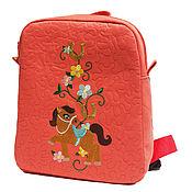 """Работы для детей, ручной работы. Ярмарка Мастеров - ручная работа Рюкзачок детский """"Розовая лошадка"""". Handmade."""
