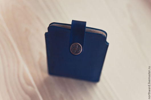 Для телефонов ручной работы. Ярмарка Мастеров - ручная работа. Купить Кожаный чехол для Iphone 6 plus. Handmade.