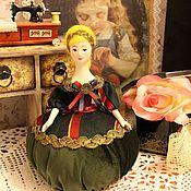 """Куклы и игрушки ручной работы. Ярмарка Мастеров - ручная работа Авторская Игольница """"Новогодняя"""". Handmade."""