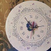 """Для дома и интерьера ручной работы. Ярмарка Мастеров - ручная работа Часы """"Нежность """". Handmade."""