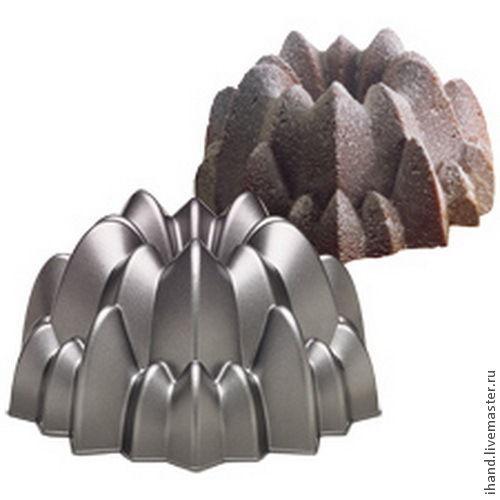 Другие виды рукоделия ручной работы. Ярмарка Мастеров - ручная работа. Купить Метал. форма для выпечки: Объемный каскад. Handmade.