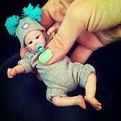 Куклы и игрушки ручной работы. Ярмарка Мастеров - ручная работа малыш Kif 12 см. Handmade.