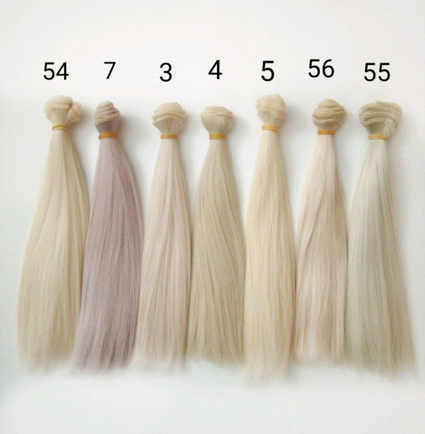Волосы трессы  для кукол 20см, Волосы для кукол, Дзержинск,  Фото №1