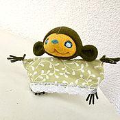 Куклы и пупсы ручной работы. Ярмарка Мастеров - ручная работа Марионетка «Ноно». Handmade.