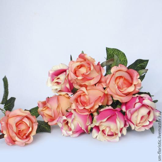 Материалы для флористики ручной работы. Ярмарка Мастеров - ручная работа. Купить Роза одиночная (5 расцветок). Handmade. Флористика, букет