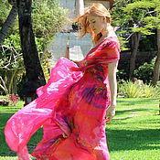 """Одежда ручной работы. Ярмарка Мастеров - ручная работа Платье """"Внутренний рай"""" из Коллекции """"Семь цветов любви"""". Handmade."""