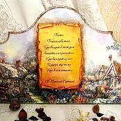 """Для дома и интерьера ручной работы. Ярмарка Мастеров - ручная работа Ключница интерьерная """"Благословение"""". Handmade."""