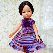 Куклы и игрушки ручной работы. Ярмарка Мастеров - ручная работа Платье для куклы Paola Reina (Паола Рейна). Handmade.