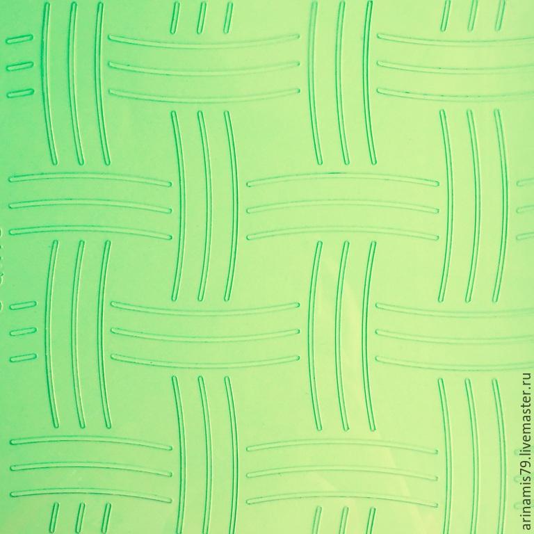 Шаблон для стежки. Плетение корзинка, Инструменты для шитья, Красногорск,  Фото №1