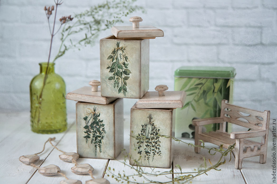Jar for spices Spiced herbs. Jar decoupage, Jars, Khimki,  Фото №1