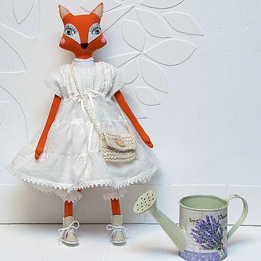 Dolls & toys handmade. Livemaster - original item Boho style Fox toy. Handmade.
