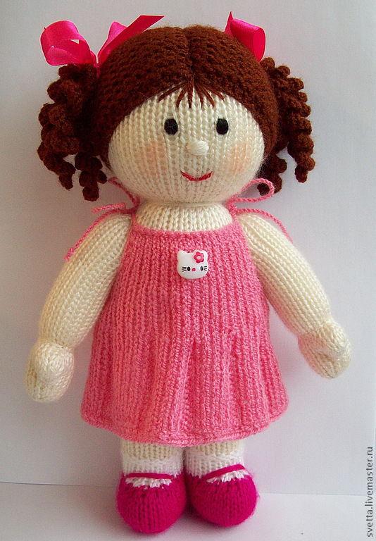Вяжем для кукол спицами с описанием для начинающих