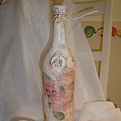 Сувениры и подарки ручной работы. Ярмарка Мастеров - ручная работа Декор спиртных напитков. Handmade.