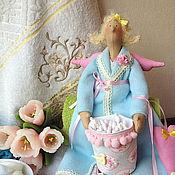 Куклы и игрушки ручной работы. Ярмарка Мастеров - ручная работа Хранительница ватных дисков в стиле Tilda. Handmade.