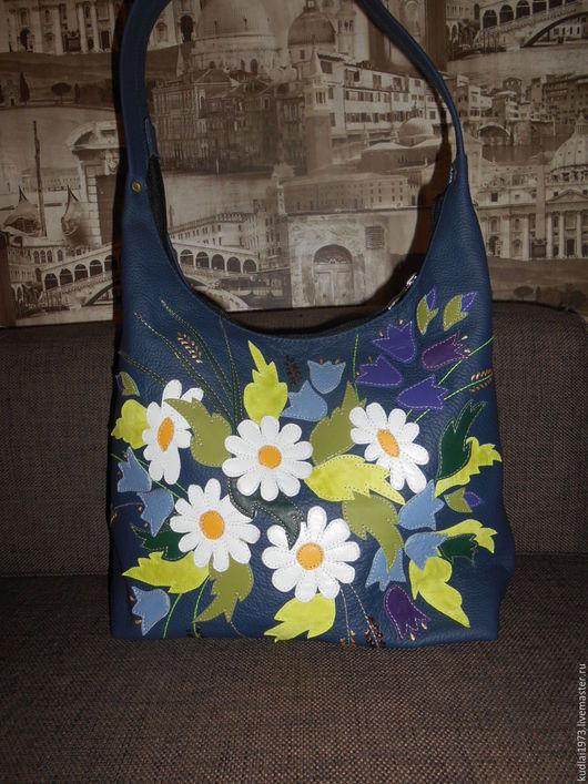 """Женские сумки ручной работы. Ярмарка Мастеров - ручная работа. Купить Женская сумка  """"Букет"""" из натуральной кожи. Handmade."""