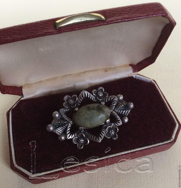 Brooch Connemara Marble Miracle, Vintage brooches, Ramenskoye,  Фото №1