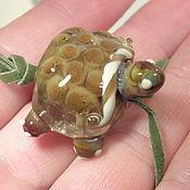 """Украшения ручной работы. Ярмарка Мастеров - ручная работа Подвеска""""Мудрая черепаха"""". Handmade."""