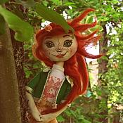 Куклы и пупсы ручной работы. Ярмарка Мастеров - ручная работа Текстильная кукла Иринка. Handmade.