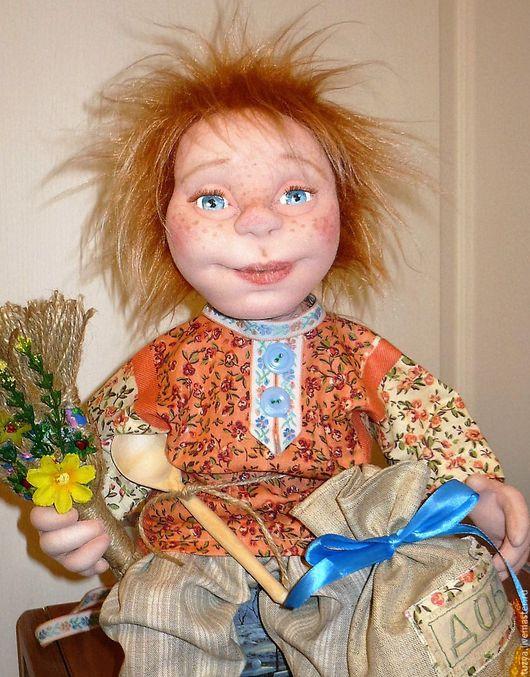 Коллекционные куклы ручной работы. Ярмарка Мастеров - ручная работа. Купить Интерьерная кукла домовой Интерьерная текстильная кукла Домовой. Handmade.