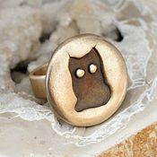 """Украшения ручной работы. Ярмарка Мастеров - ручная работа Кольцо """"Cat"""". Handmade."""
