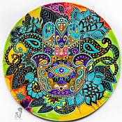 Картины и панно handmade. Livemaster - original item Round bright painting